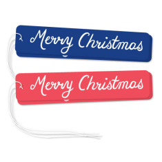 Merry Christmas gift tags (mixed pack of 6)