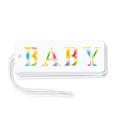Baby gift tags (pack of 6)