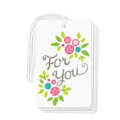 For you gift tags (pack of 6)