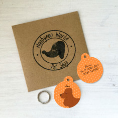 Cocker Spaniel Personalised ID Tag