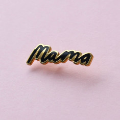 Mama Enamel Pin