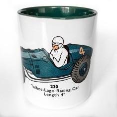 Talbot-Lago racing car mug