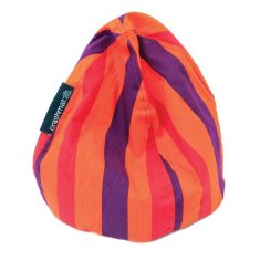Tangerine dream stripe bubble iPad holder