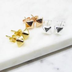 Stud Earrings (silver/gold/rosegold)