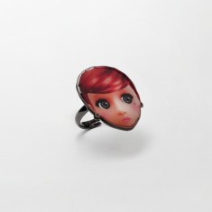 Red doll ring