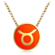 Zodiac Taurus necklace