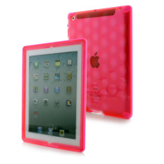 Pink bubble case for the iPad