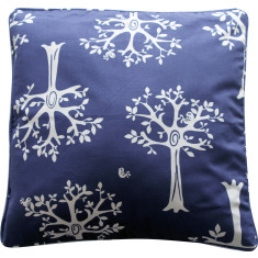 Navy orchard cushion covers (set of 2)