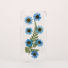 Real flower clear phone case for iPhone & Samsung