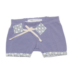Play shorts in deep lilac
