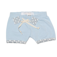Play shorts in blue cloud