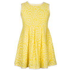 Girls' Lola lace dress
