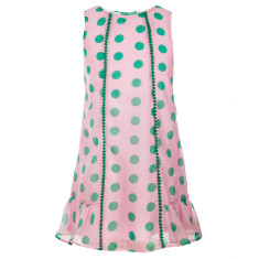 Girls' Dotty daydream dress