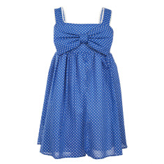 Girls' Pixie pinspot sundress