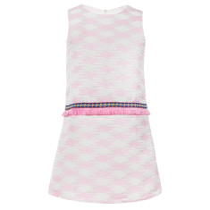 Girls' festival fringe dress