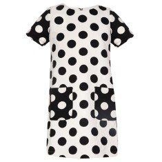 Girls' dot-to-dot t-shirt dress