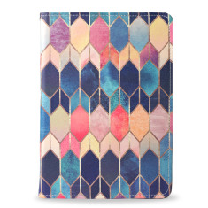 Colourful Stained Glass iPad Tablet Folio Case