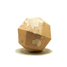 D.I.Y Paper Origami Antique Globe
