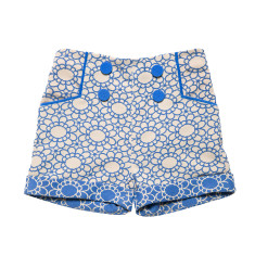 Girls' daisy chain shorts