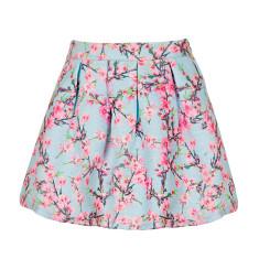Girls' cherry blossom skirt