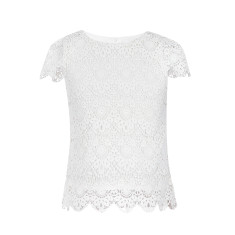 Girls' Lucia lace top