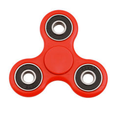 Turbo Tri Fidget Spinner in Red