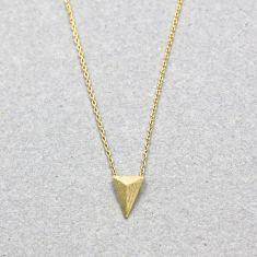 Triangle spike necklace