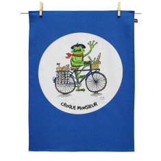Croque Monsieur tea towel