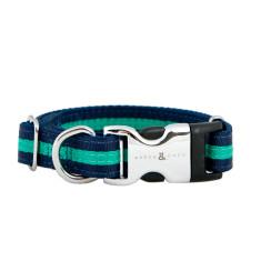 Bronte Nylon Collar Navy/Green