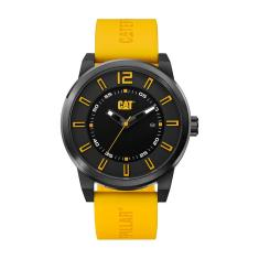 CAT HARDWARE series watch in Black & Yellow plus free gift