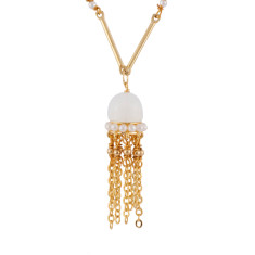 Jellyfish Semi-Pearly Necklace