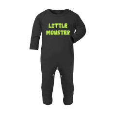 Little Monster Halloween Baby Romper Sleepsuit