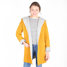 Delilah's Knit Cardigan - Mustard