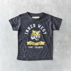 Kids Inner West tiger vintage t-shirt