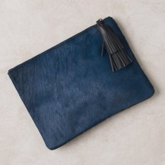 Masai mara clutch in royal Blue