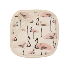 Flamingo Party Pot Holder