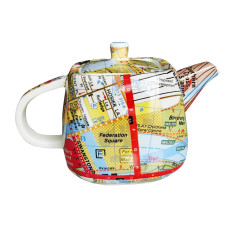 Iconic directions Melbourne teapot