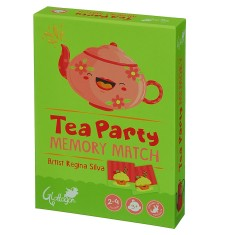 Tea party memory match game