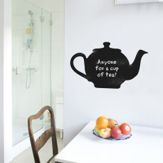 Chalkboard teapot wall sticker
