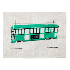 Iconic rumble tea towel