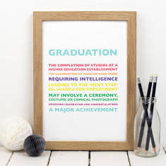 Graduation Personalised Print