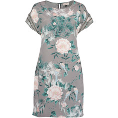nooki design lexi clea printed floral dress with bead detail
