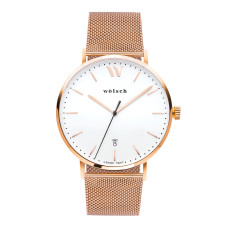 Versa 40 Watch In Rose Gold Mesh