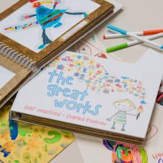 The Great Works Children's Artwork Holder