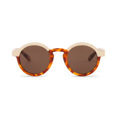 Mr Boho Dalston Cream/Leo Tortoise Sunglasses
