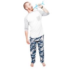 Great night shark pyjama pants