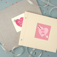 Personalised Valentine's photo album