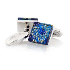 Ninfea Murano glass cufflinks