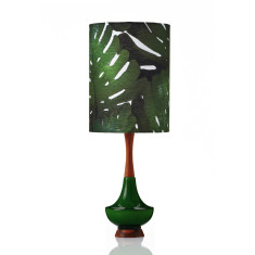 Electra table lamp large in Monstera