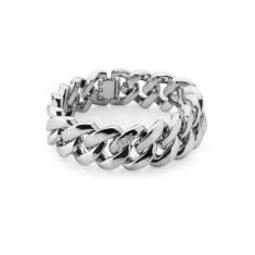 Metal bracelet in silver